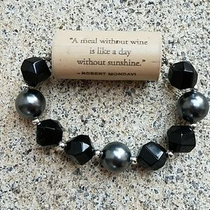 Cork Screw Wine Bracelet